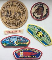 boy scout badges from overseas.
