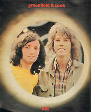 GREENFIELD & COOK - PHOTO'S + ARTICLES DUTCH MUSIC MAGAZINES 1971 + 1972