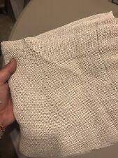New ListingRestoration Hardware Open Weave Sand Beige Linen Rod Pocket Drapery Curtains Set