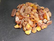 GENUINE BALTIC AMBER. RAW STONES  120 gr.   ~~