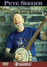 How to Play The 5 String Banjo 0073999768015 With Pete Seeger DVD Region 1