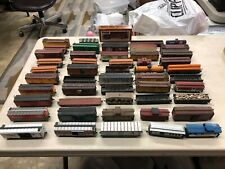 51 Model Trains Collection, HO Scale, Custom, Wooden, Metal, Plastic, Hand Made