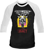 TESTAMENT The Legacy 3/4 LONG SLEEVE BASEBALL T-SHIRT OFFICIAL MERCHANDISE