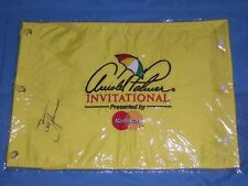 Arnold Palmer Invitational pin flag signed by Zach Johnson Bay Hill Club pga