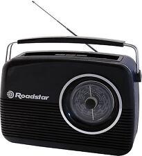 Roadstartra1957 WD Kofferradio schwarz Batterie und Netz