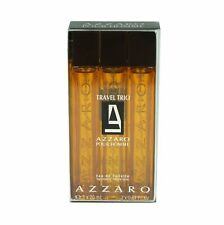 AZZARO POUR HOMME TRAVEL TRIO GIFT SET WITH EAU DE TOILETTE SPRAY 3X20 ML NIB