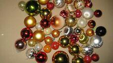 50 boules de noel vintage 80's-90's intérieur sapin décoration
