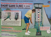 "Golf Indoor Short Game Clinic by Jason Size in use 118"" x 82.7"" - 27.5 x 82.7"