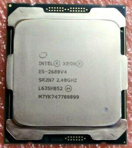 Intel Xeon E5-2680V4 CPU 14 Core 28 Threads LGA 2011-3 E5-2680 V4 CPU SR2N7