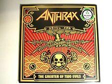 ANTHRAX THE GREATER OF TWO EVILS LP 2017 IMPORT (2) LP BONUS TRACKS JOHN BUSH
