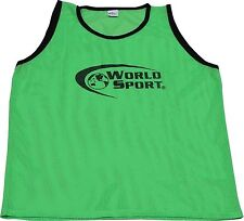 Set 12 Pro Quality scrimmage vests pinnies Youth Green Soccer Football training