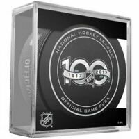 1917-2017 NHL 100th Anniversary Official Game Puck