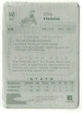2005 Topps Ellis Hobbs Printing Plate 1/1 New England Patriots Iowa State Rookie