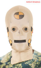 Crash Test Dummy-Faux Real Unisex-Adult's Full Coverage Face Mask-One Size