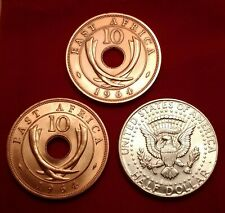 Rare Magic Chinatown Half Utility Coin Set 64 African Dime 64 Kennedy