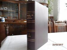 Berlin und seine Bauten Band 2 in Leder gebunden Nr. 51 von 200 Exemparen