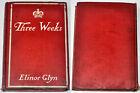 1907 THREE WEEKS Book Erotic Romance By Elinor Glyn US New York 1st Edition