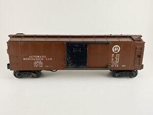 Lionel 3854 Early Postwar 1946-1947 Automatic Merchandise Car Rare