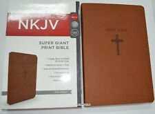 Super Giant Print Bible NKJV Imitation Leather Largest Print 16 point BRAND NEW!
