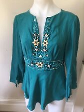 SZ 10 KAREN MILLEN TOP *BUY FIVE OR MORE ITEMS GET FREE POST