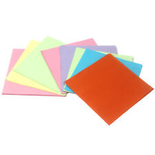 High Quality 100 Sheets Double Sided Colored Paper Mixed Colors Origami 14*14cm
