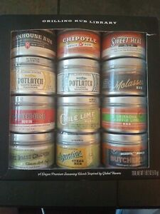 Williams Sonoma Rub Set of 12, 1.5 oz new tins