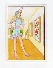 figurina - BARBIE 1989 PANINI - NUMERO 74