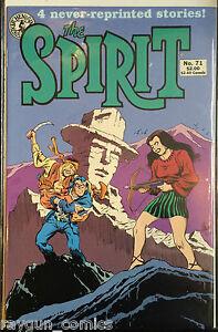 The Spirit #71 VF 1990 Reprints Free UK P&P Kitchen Sink Comics