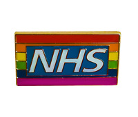 NHS LGBT Rainbow Pin Badge – Pride Enamel Brooch - Thank You NHS