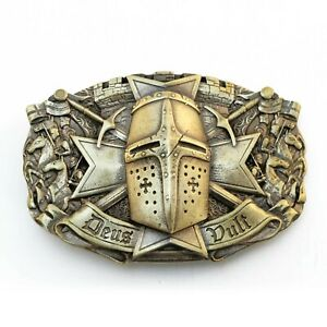 "Belt buckle ""Templar""; knight order belt buckle; Crusader Knight buckle"