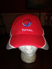 Total Polynesie Ball Cap Red Gray Unsized Adult New