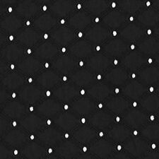 "Michael Miller LATTICE EYELET 100%COTTON EMBROIDER FABRIC 54""WIDE FQ ET6345BLACK"