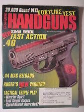 Guns & Ammo Handguns June/July 2005. S&W 990: .40 .44 Magnum Israeli Gun Laws