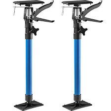 2x Étai de soutien porte pour chambranle tige télescopique écarteur porte bleu