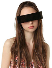 New Hot Funny party glasses,Censor bar sunglasses,Black Bar eye Sunglasses