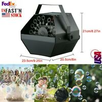 Durable Bubble Machine with High Output, For Children Game, Parties, Wedding
