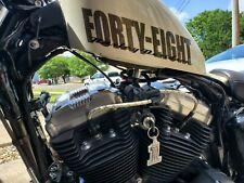 Harley Davidson Sportster 48 72 883 1200 Coil Key Plug Wires Relocation Kit 8mm