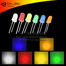 6colors 120pcs 5mm Led Diodes Diffused Red Green Blue Yellow White Mix Kits