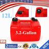 Portable Boat Fuel Tank 12L 3.2 Gallon Marine Outboard Fuel Tank W/ Connector US