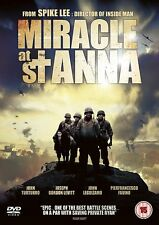MIRACLE AT ST ANNA SPIKE LEE JOHN TURTURRO JOHN LEGUIZAMO REVOLVER UK DVD L NEW