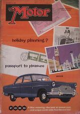 Motor magazine 21/1/1959 featuring Wolseley road test, Lotus, Austin A55 Cutaway