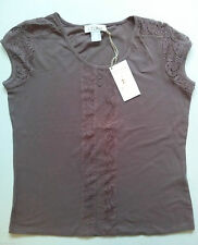 Hips Lace Cap Sleeve Tops & Shirts for Women