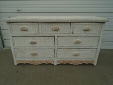 Wicker Dressers And Chests Of Drawers For Sale Ebay