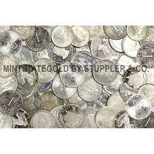 Lot of 100 Commercial Grade 1 troy ounce .999 Silver Trade Units Bullion Rounds