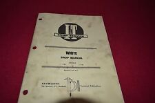 White 2-45 2-62 Tractor I&T Shop Manual BVPA