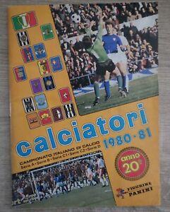 Football ALBUM PANINI CALCIATORI ITALIA ITALY Calcio 1980 1981 Complet Full