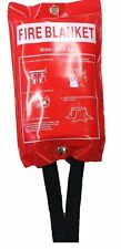 Quick release Large Fire Blanket Kitchen Boat Caravan Camping Fire Safety1M x 1M