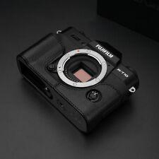 GARIZ HALF CASE NERA -CUSTODIA Per  Fujifilm X-T20 E X-T10