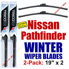 WINTER Wiper Blades 2-Pack Premium - fit 1987-1995 Nissan Pathfinder - 35190x2