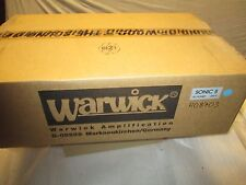 WARWICK SONIC II 200 WATT BASS AMP - made in GERMANY